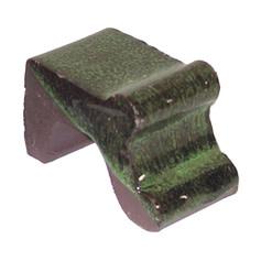 Pot Feet Glazed Green Each