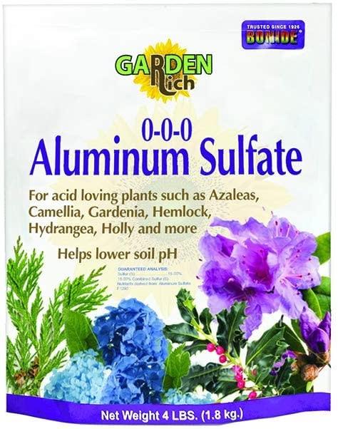 4Lb Aluminum Sulfate Bonide