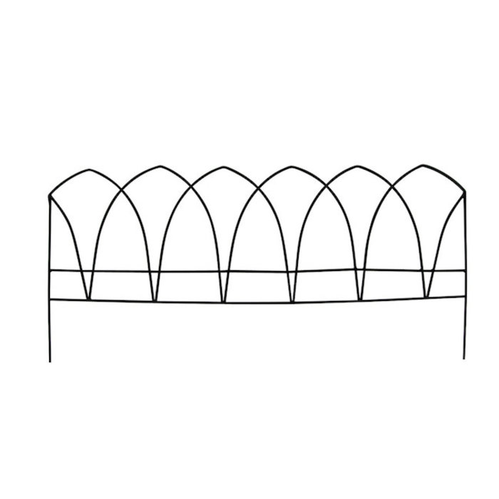 Fence Border Hastings Arch 29x13