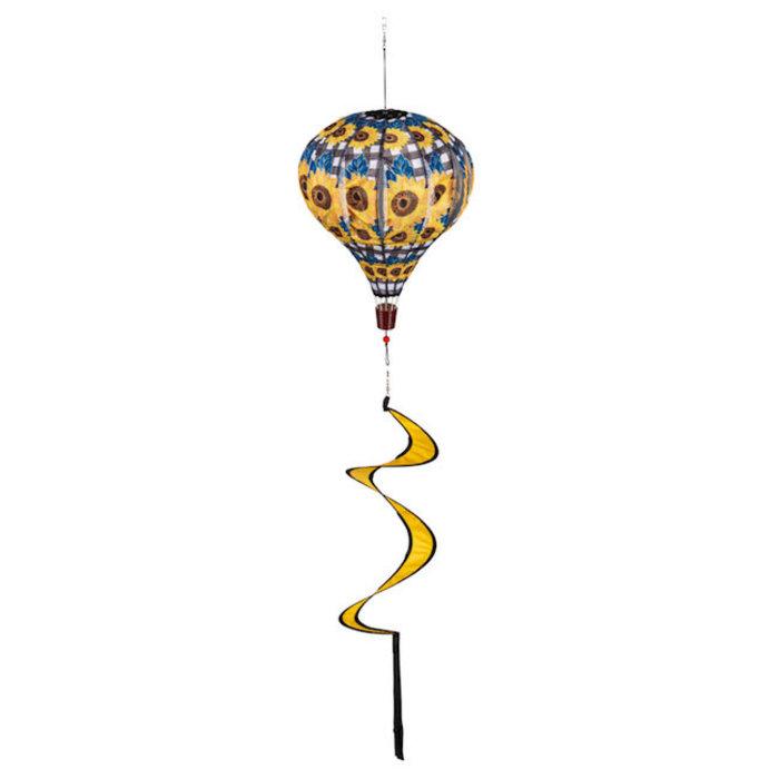 Balloon Spinner Sunflower Check