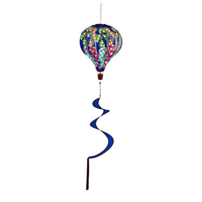 Balloon Spinner Plaid Flip Flops