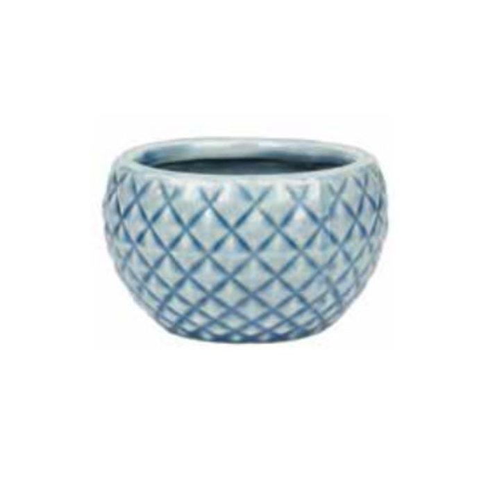 Pot / Low Bowl Quilted 3x2 Asst