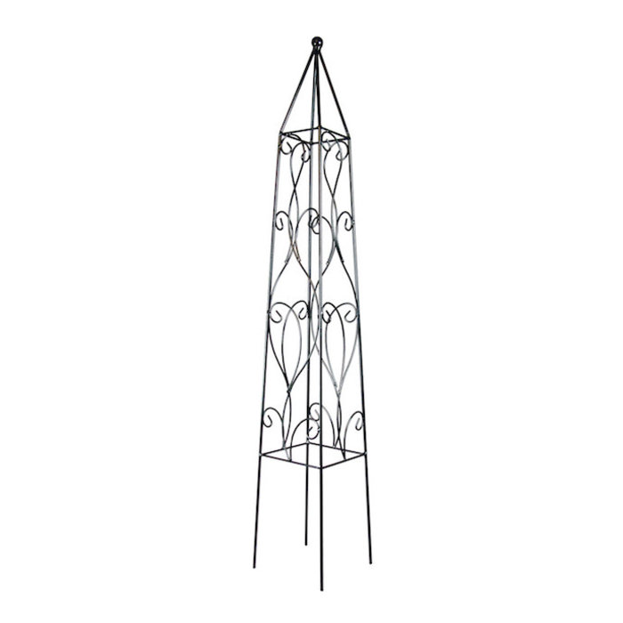 """Obelisk 48"""" Wisteria Black"""