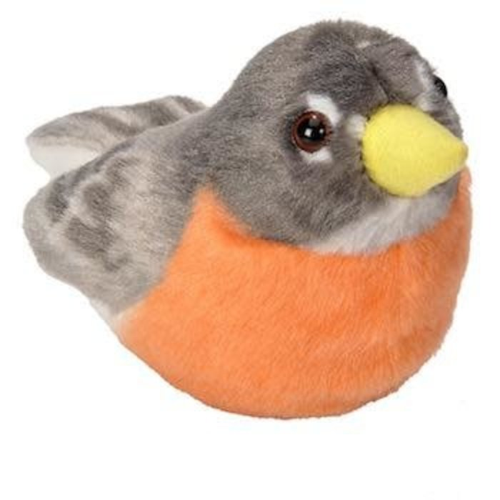 American Robin Audubon Plush Toy