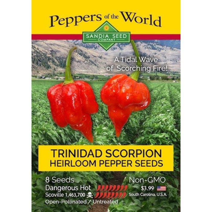 Seed Pepper Trinidad Scorpion - Capsicum chinense