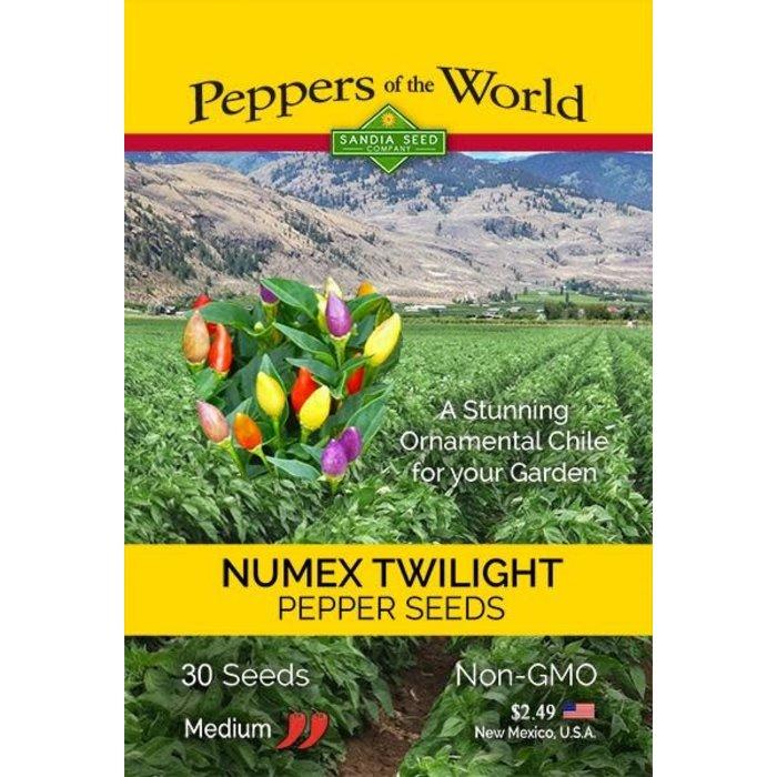Seed Pepper Twilight NuMex - Capsicum annuum
