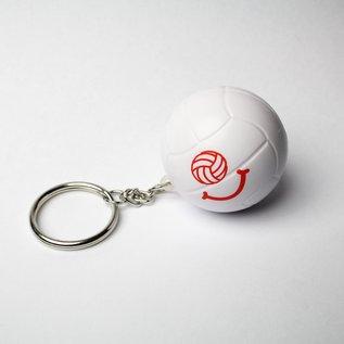 Lucky Dog Volleyball Foam Ball Keychain