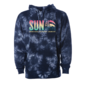 Sunshine Logo #2 USAV Sunshine QP Rise Up Tie Dye Hoodie