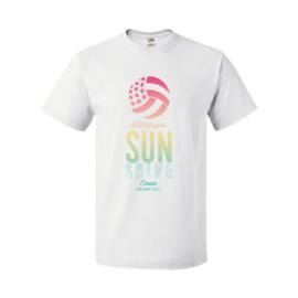 Sunshine Logo #2 USAV Sunshine QP Rise Up Short Sleeve
