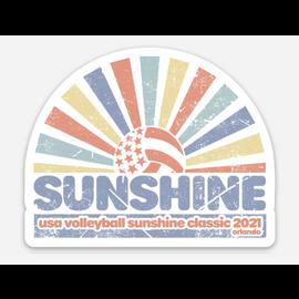 USAV Sunshine QP Ray Ray Sticker