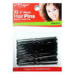 MAGIC COLLECTION MAGIC COLLECTION 3 INCH HAIR PINS - BLACK