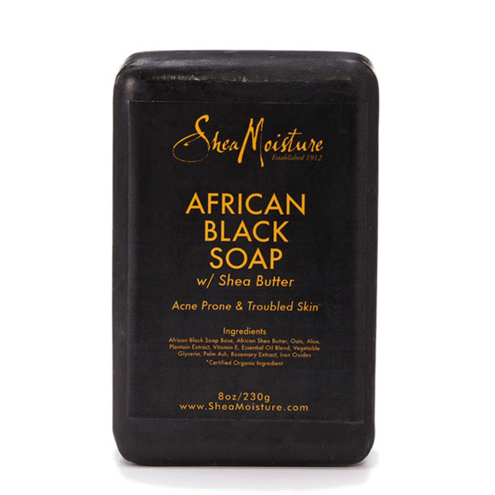 SHEA MOISTURE SHEA MOISTURE AFRICAN BLACK SOAP [8OZ]