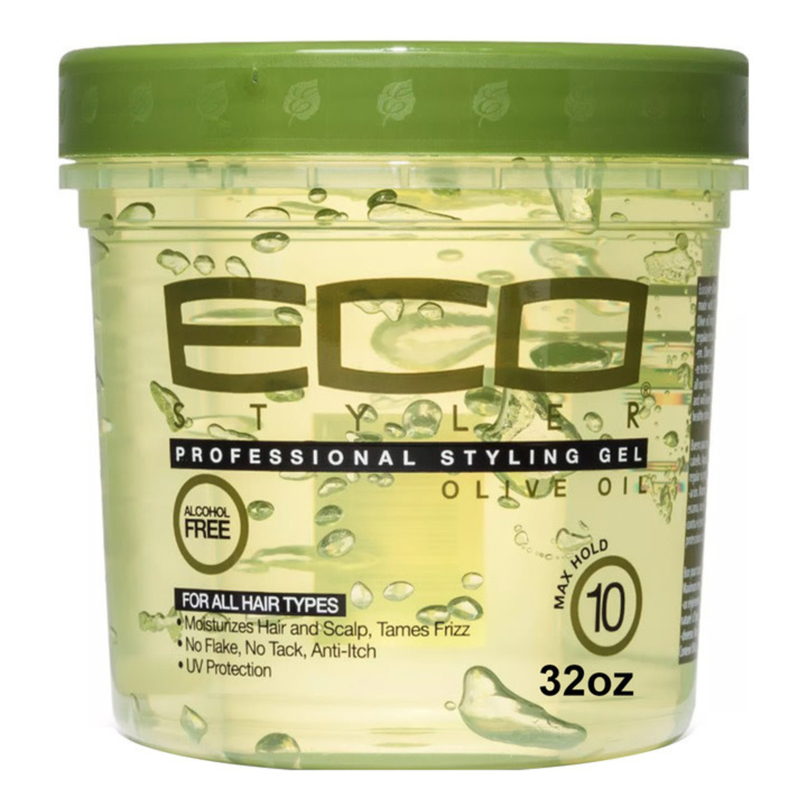 ECO STYLE ECO STYLING GEL - OLIVE OIL [32 OZ]