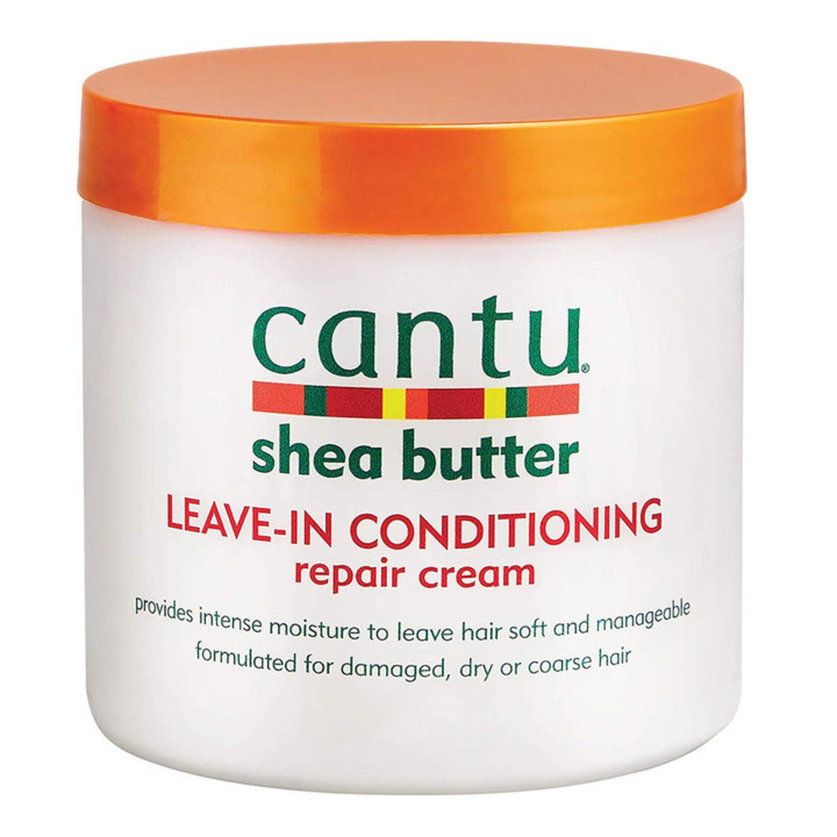 CANTU CANTU SHEA BUTTER LEAVE-IN REPAIR CONDITIONER [16OZ]
