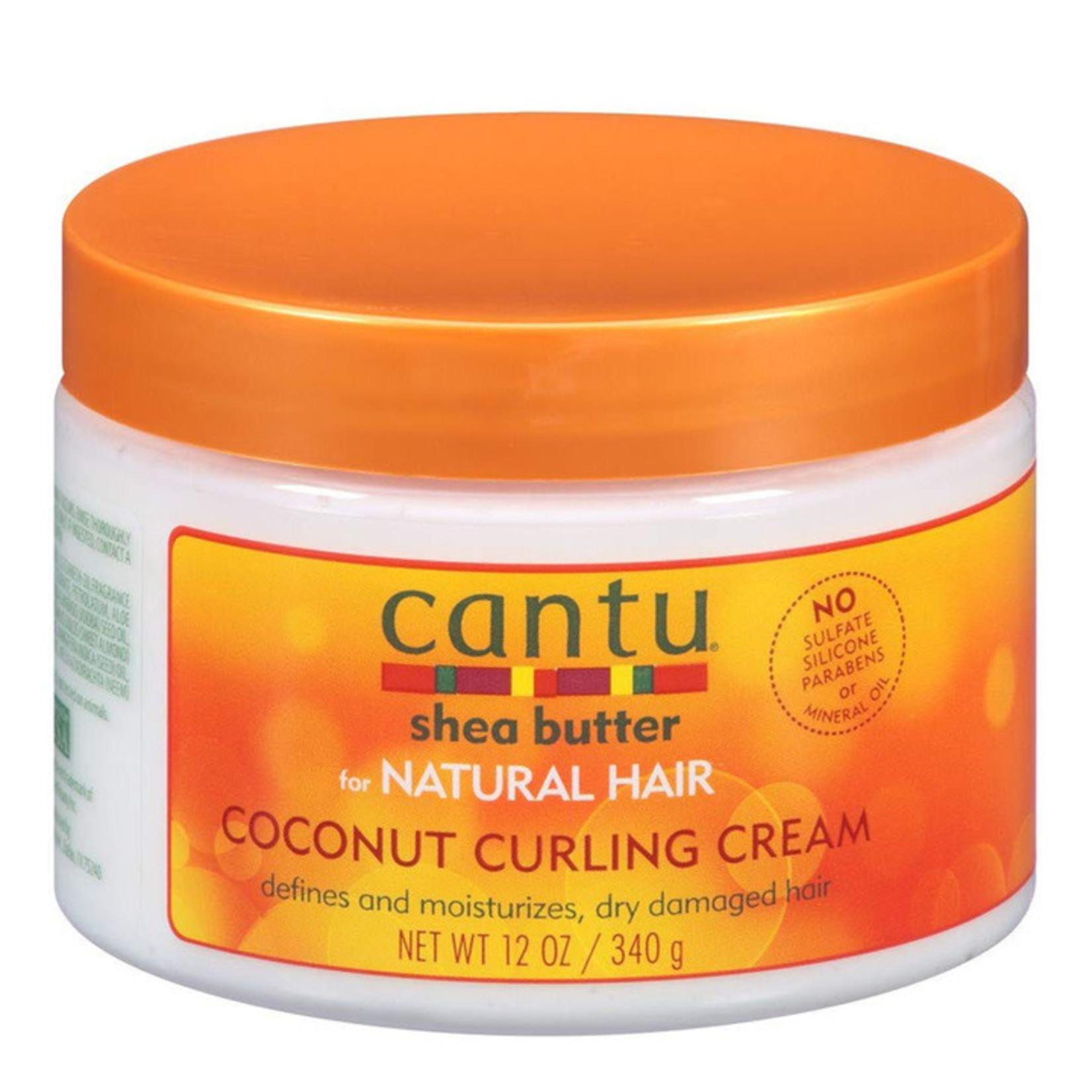 CANTU CANTU NATURAL HAIR COCONUT CURLING CREAM [12OZ]