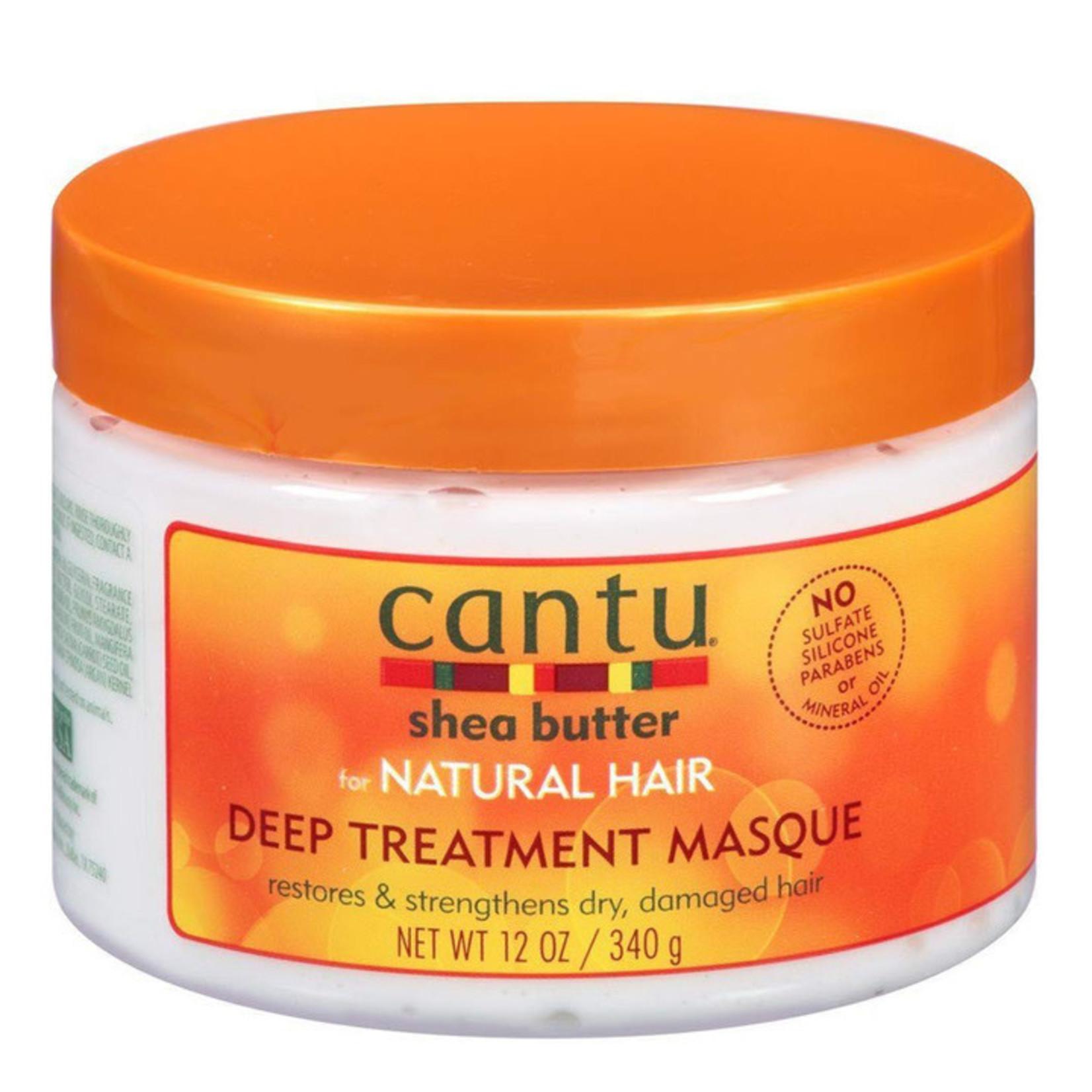 CANTU CANTU NATURAL HAIR DEEP TREATMENT MASQUE [12OZ]