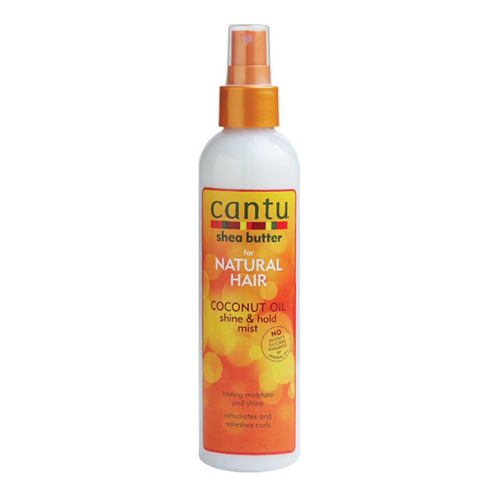 CANTU CANTU NATURAL HAIR COCONUT MILK SHINE&HOLD MIST [8.4OZ]