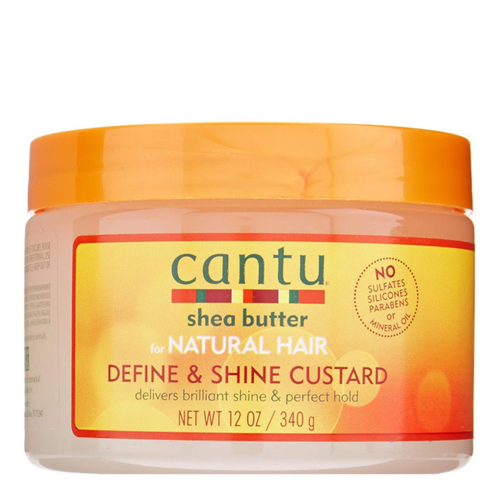 CANTU CANTU NATURAL HAIR DEFINE&SHINE CUSTARD [12OZ]