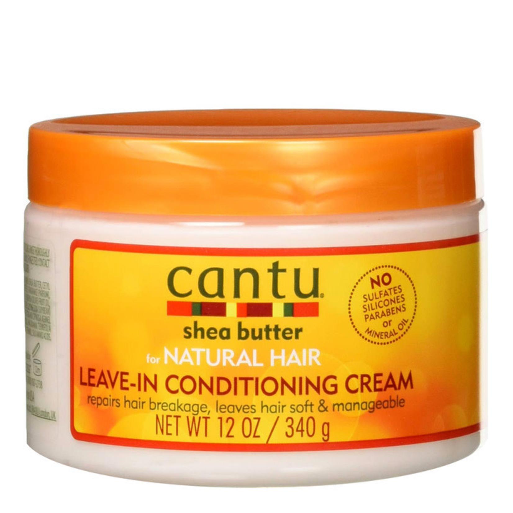 CANTU CANTU NATURAL HAIR LEAVE-IN CONDITIONING CREAM [12OZ]