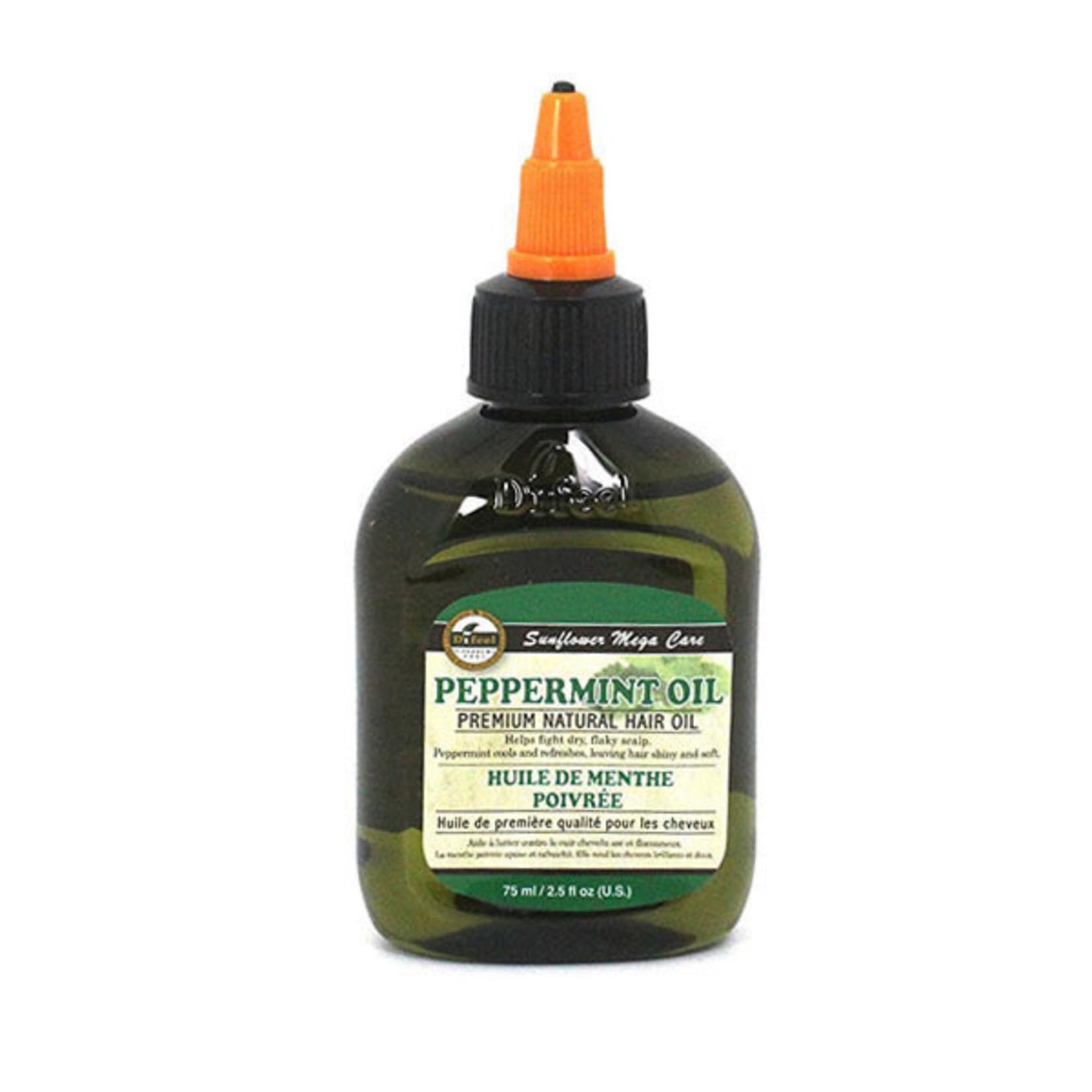 SUNFLOWER SUNFLOWER DIFEEL 99% NATURAL BLEND PREMIUM HAIR OIL [2.5OZ] - PEPPERMINT OIL