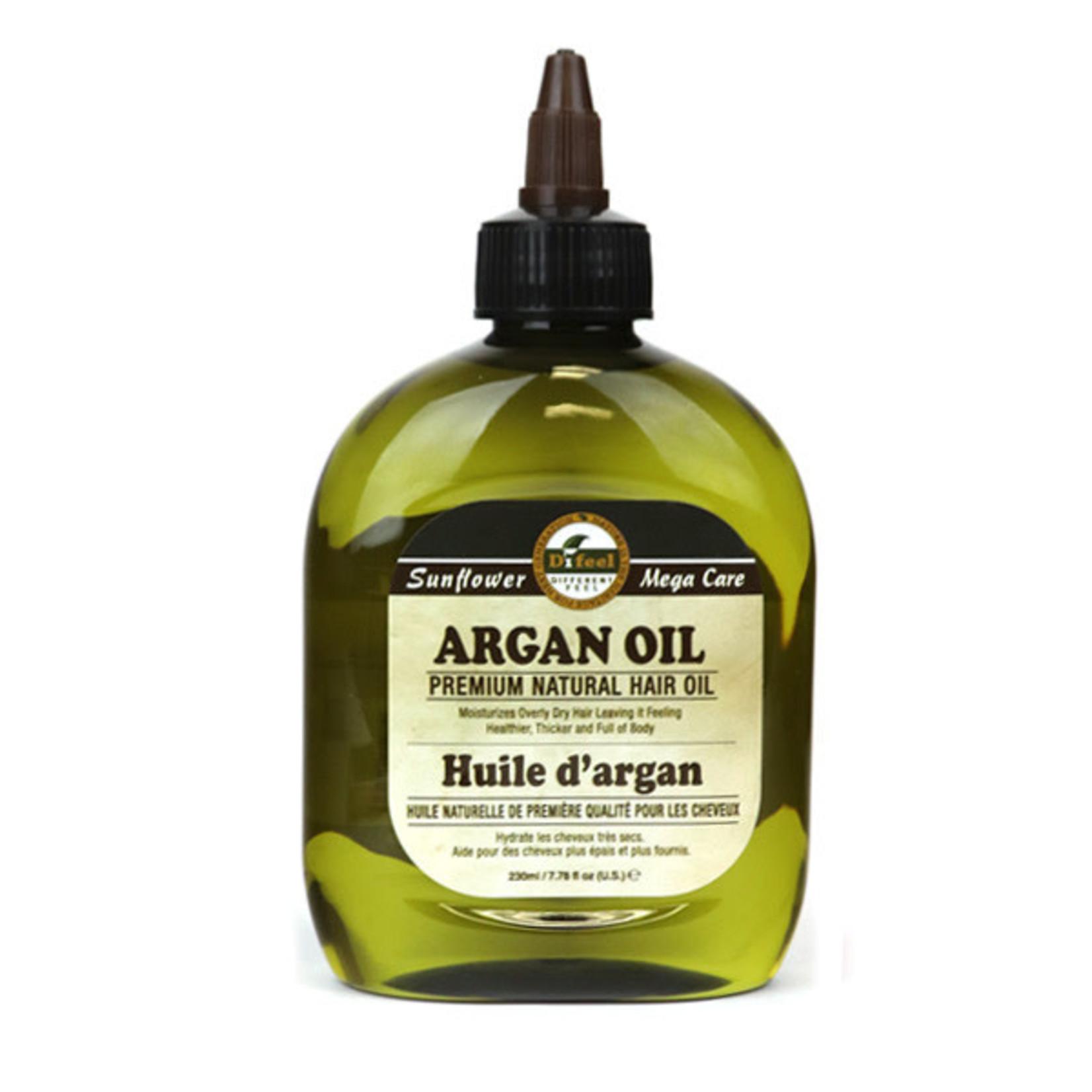 SUNFLOWER SUNFLOWER DIFEEL 99% NATURAL BLEND PREMIUM HAIR OIL [7.78OZ] - ARGAN OIL
