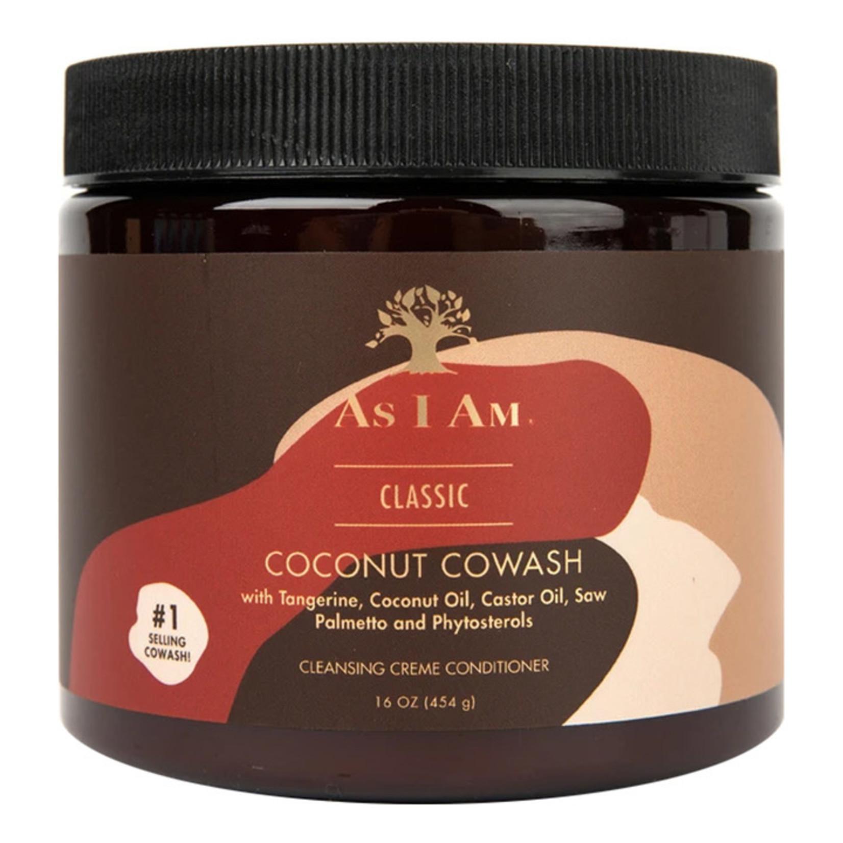 AS I AM AS I AM COCONUT COWASH [160Z]