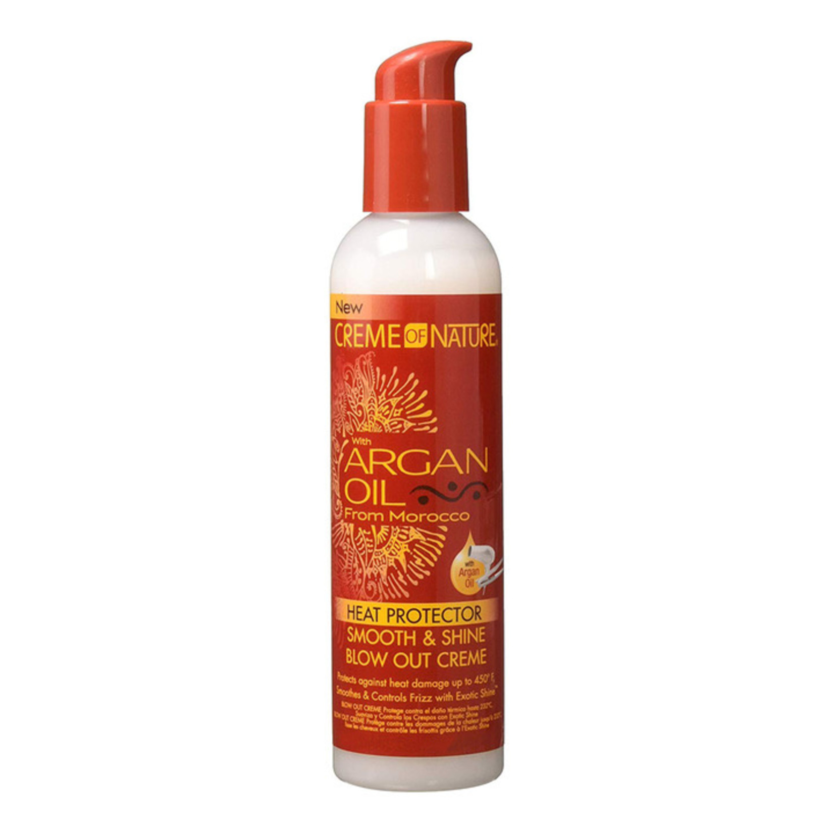 CREME OF NATURE CREME OF NATURE ARGAN OIL HEAT PROTECTOR BLOW OUT CREAM  [8.45]