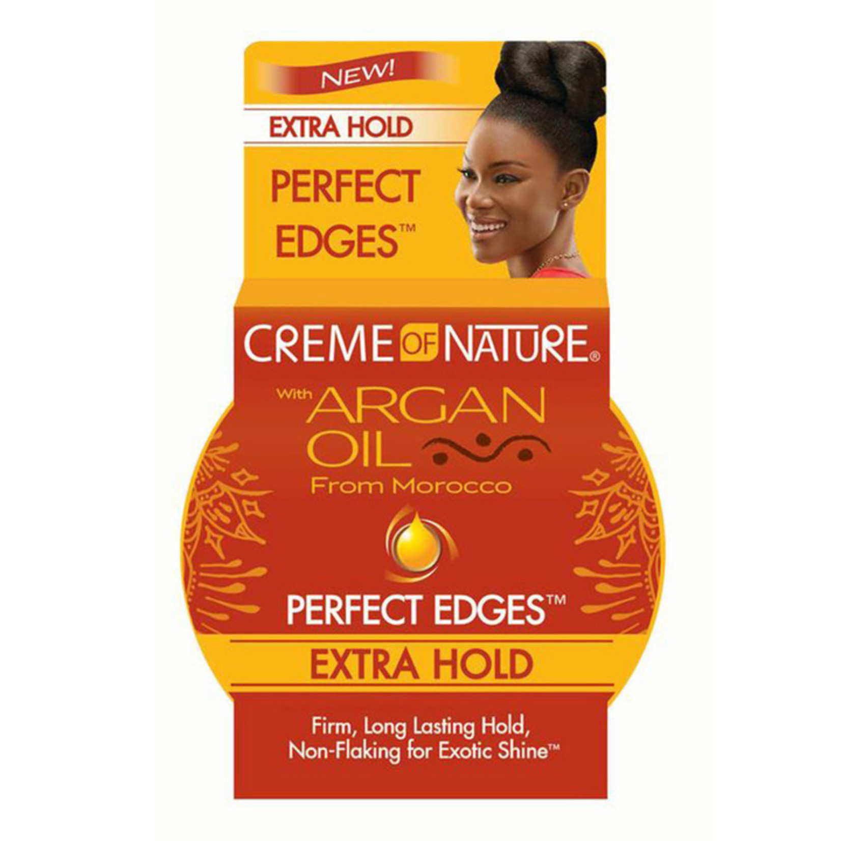 CREME OF NATURE CREME OF NATURE ARGAN OIL PERFECT EDGES  - EXTRA HOLD [2.25]