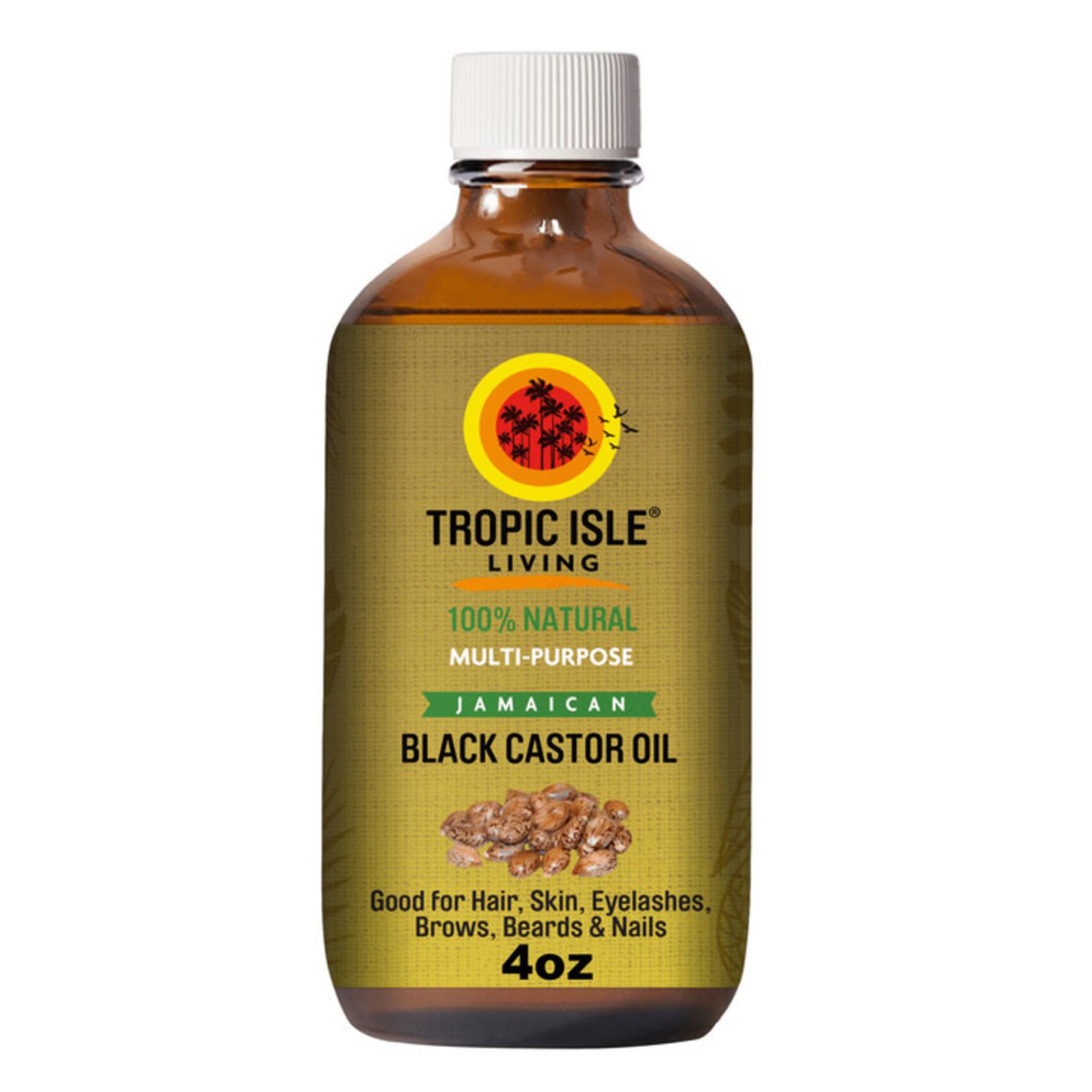 TROPIC ISLE TROPIC ISLE LIVING BLACK CASTOR OIL - ORIGINAL [4OZ]