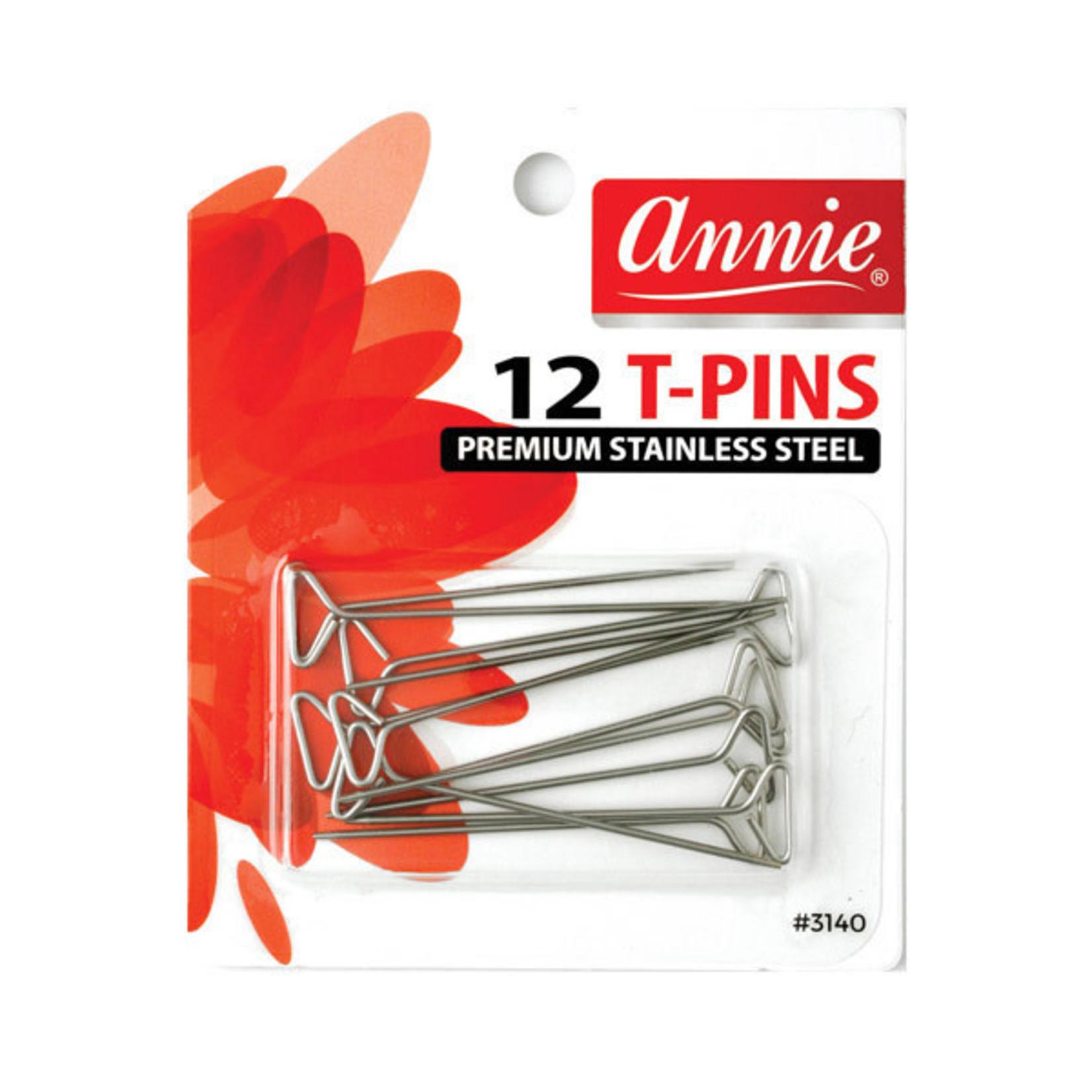 ANNIE ANNIE 12PC T-PINS