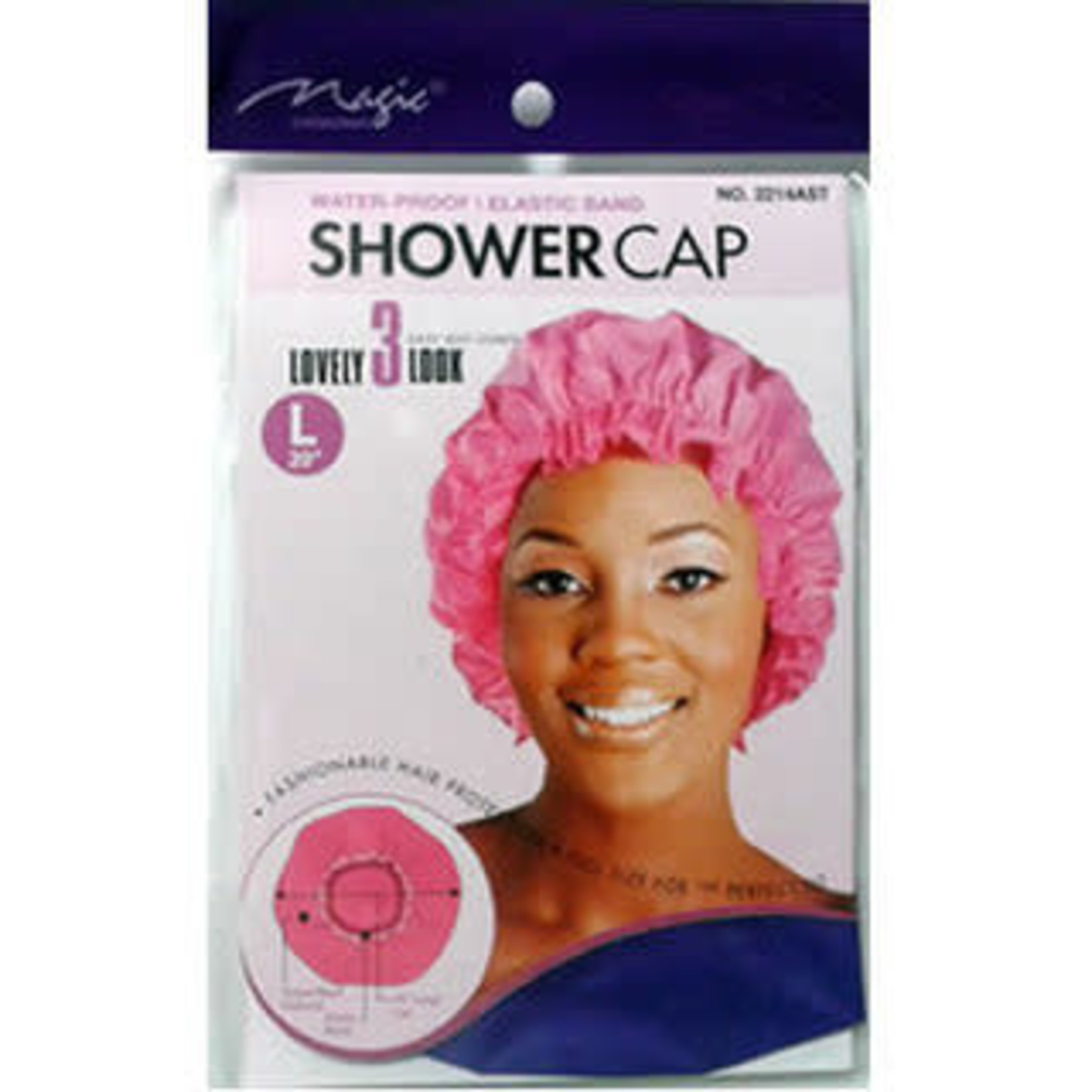 MAGIC COLLECTION MAGIC COLLECTION SHOWER CAP - LARGE