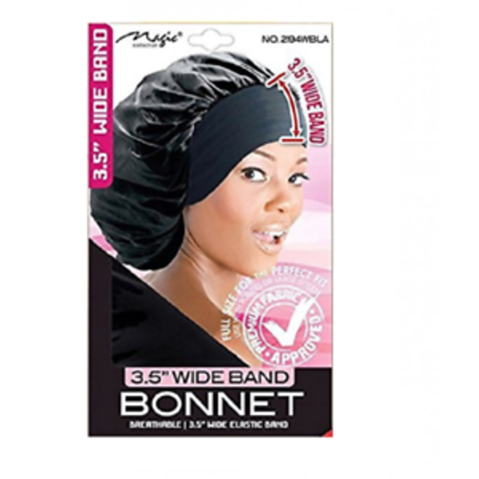 MAGIC COLLECTION MAGIC COLLECTION 3.5 WIDE BAND BONNET