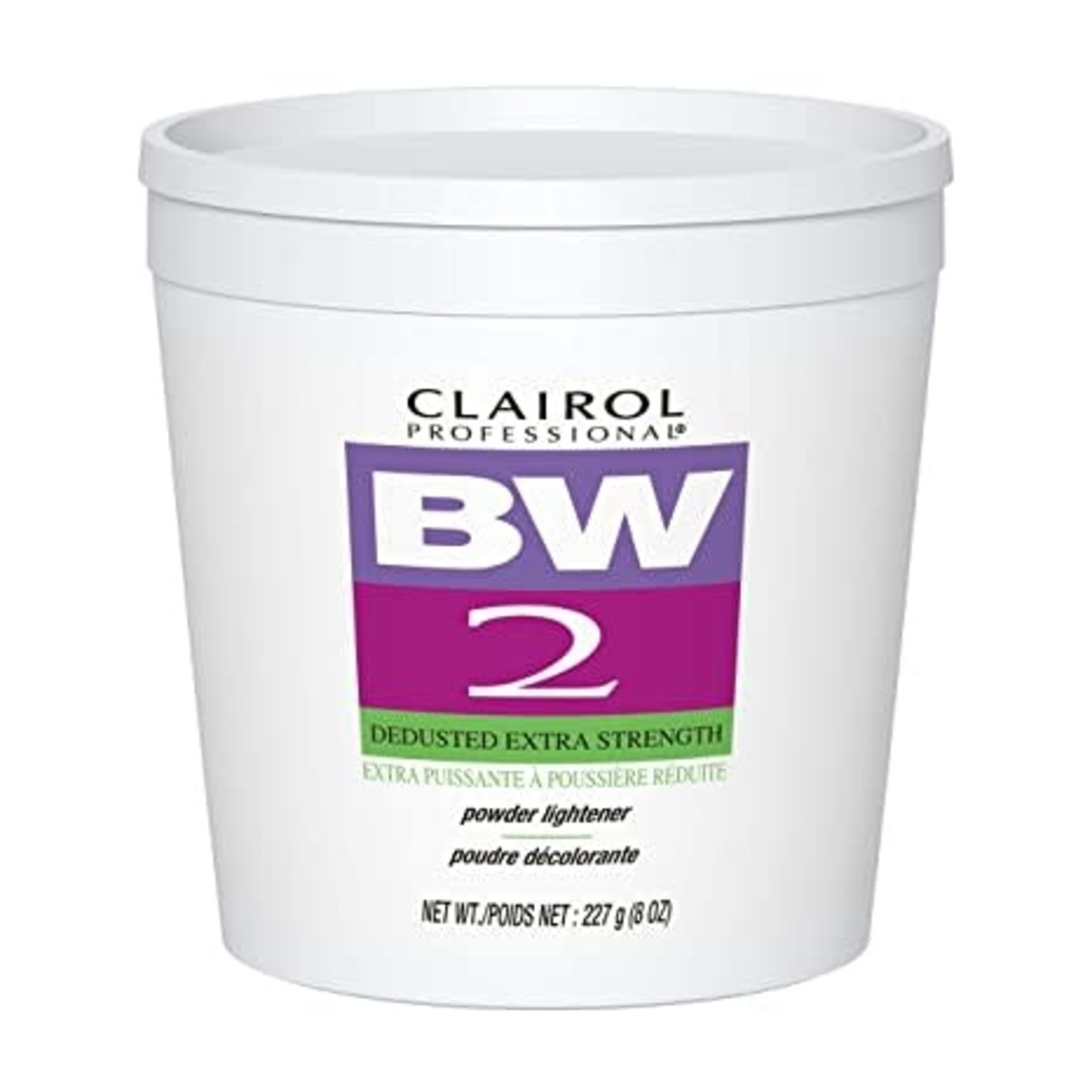 CLAIROL CLAIROL BW2 POWDER LIGHTENER TUB [8OZ]