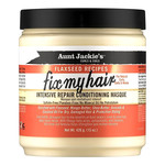 AUNT JACKIE'S AUNT JACKIE'S FLAXSEED RECIPES FIX MY HAIR INTENSIVE REPAIR CONDITIONING MASQUE [15OZ]