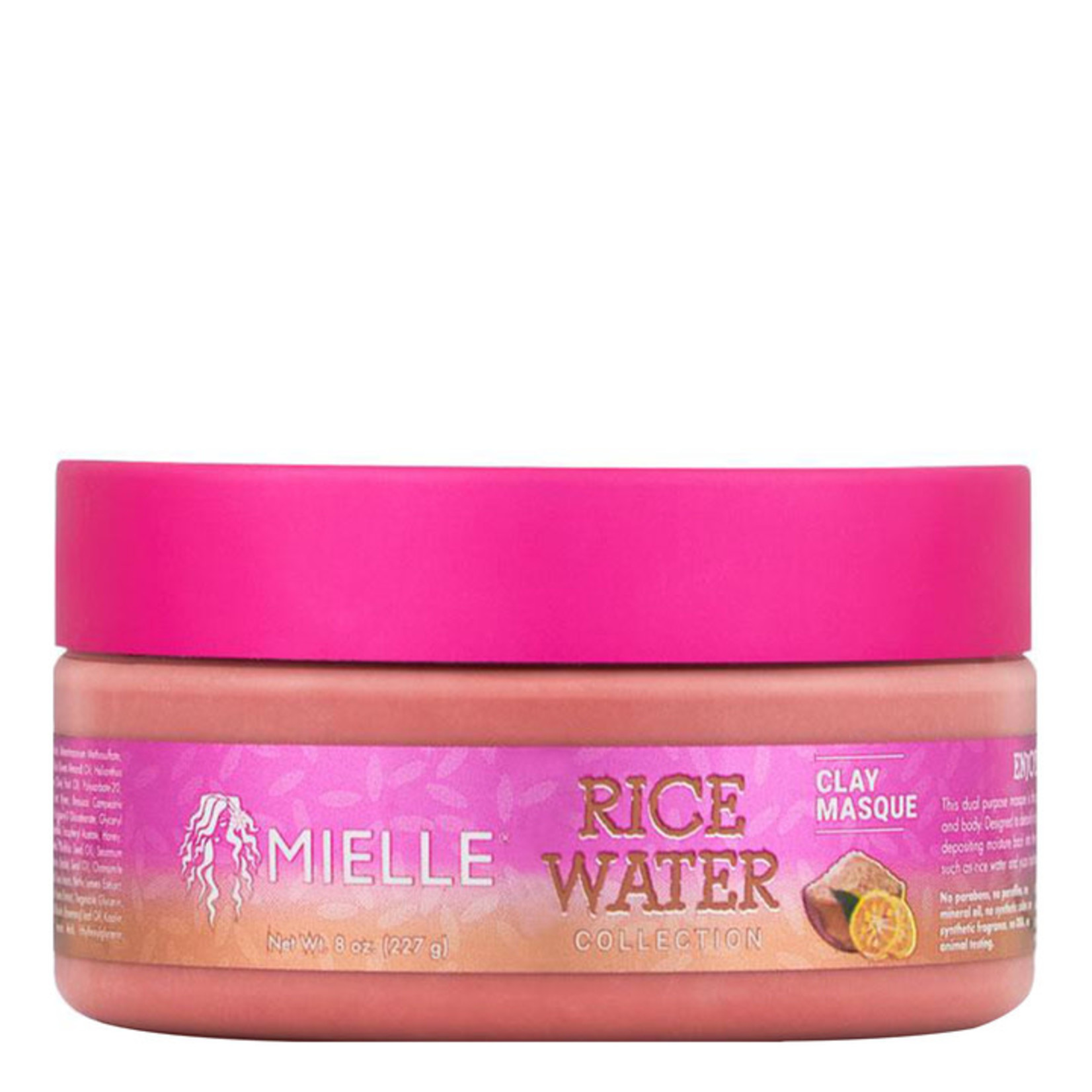 MIELLE ORGANICS MIELLE ORGANICS Rice Water Clay Masque (8oz)
