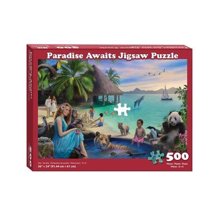 MJC Paradise Awaits Puzzle