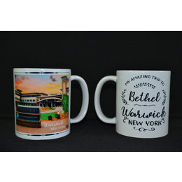 Happier To Give HTG Warwick Mug