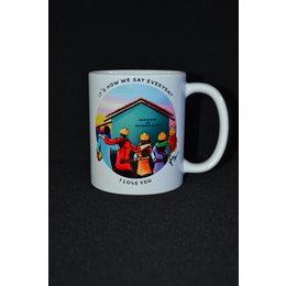 Happier To Give HTG LDC Mug