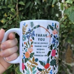 Happier To Give HTG Wives Of Elders Mug