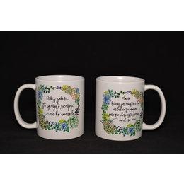 Happier To Give HTG Mom Mug English
