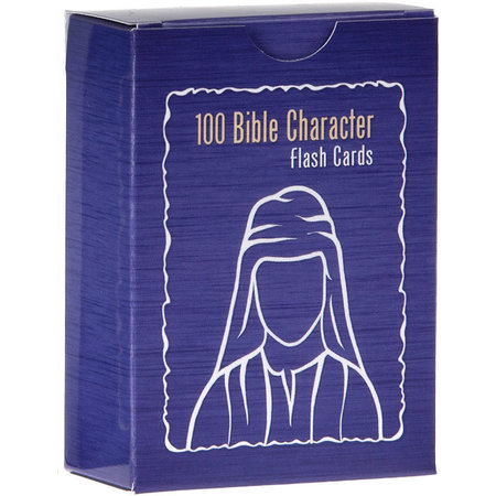 Madzay Bible Character Flash Cards