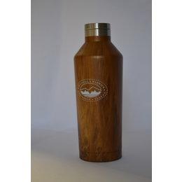 Wooden Bethel Bottle-Brown