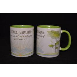 Madzay Mercies Never End Mug