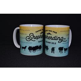 Happier To Give HTG Shepherd Us Mug