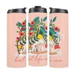Happier To Give HTG BLE Pink Tumbler