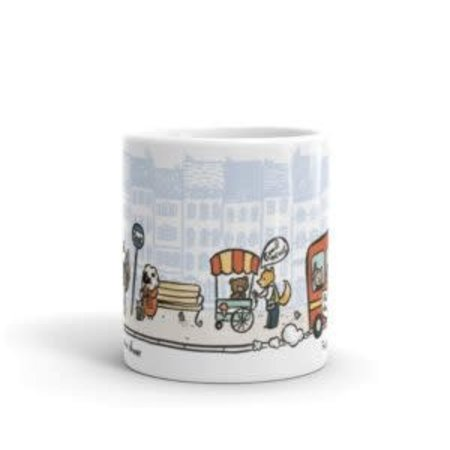 Seasoned with Salt Preaching Scene-Animals Mug
