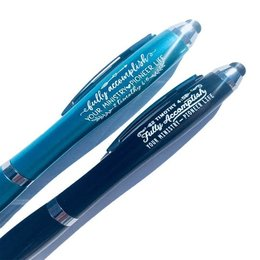 Happier To Give HTG Teal Ministry Pen
