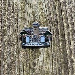 JW Stuff Patterson Lapel Pin