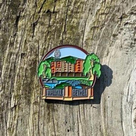 JW Stuff Wallkill Lapel Pin