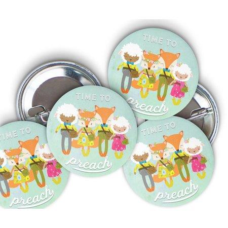 Happier To Give HTG Fox Pin